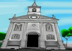 PATRIMÔNIO HISTÓRICO: Catedral de Senhora Sant'Ana.
