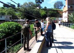 Exército Brasileiro projeta a logística da Engenharia Militar na Ponte da Roseira